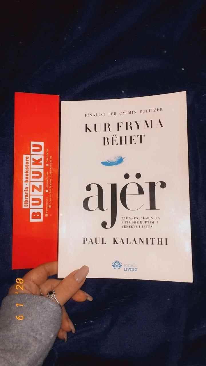 Kur fryma bëhet ajër- Paul Kalanithi