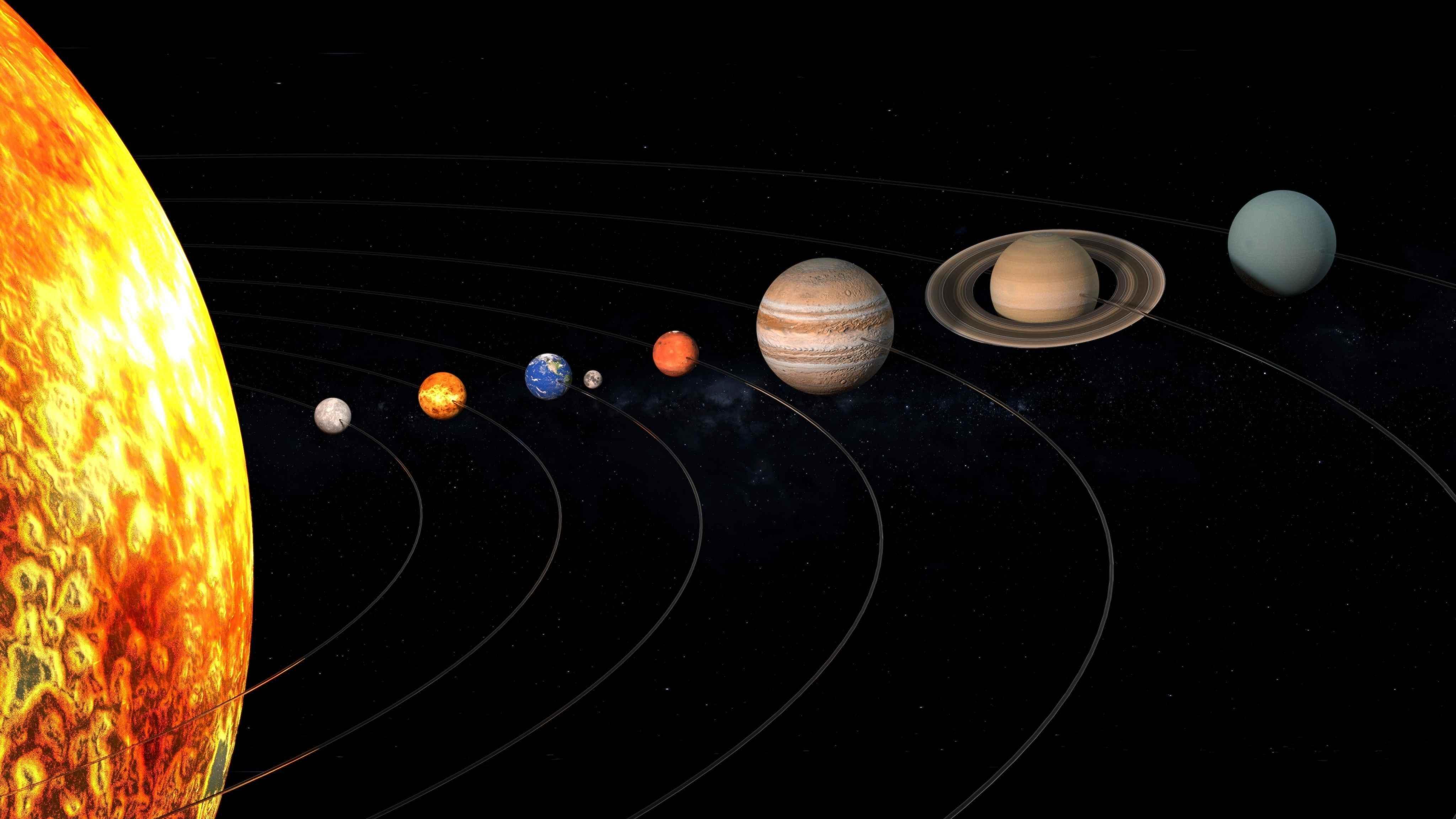 10 faktet kryesore në lidhje me sistemin diellor