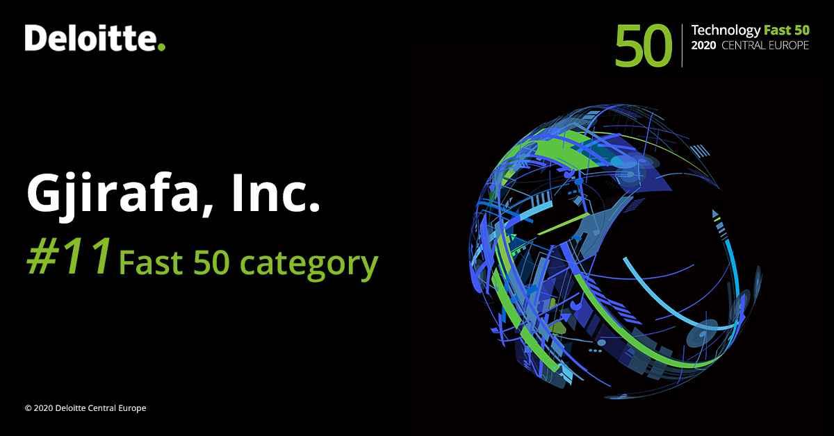 Gjirafa në pozitën e 11 në listën 'Deloitte Technology Fast 50 ranking'